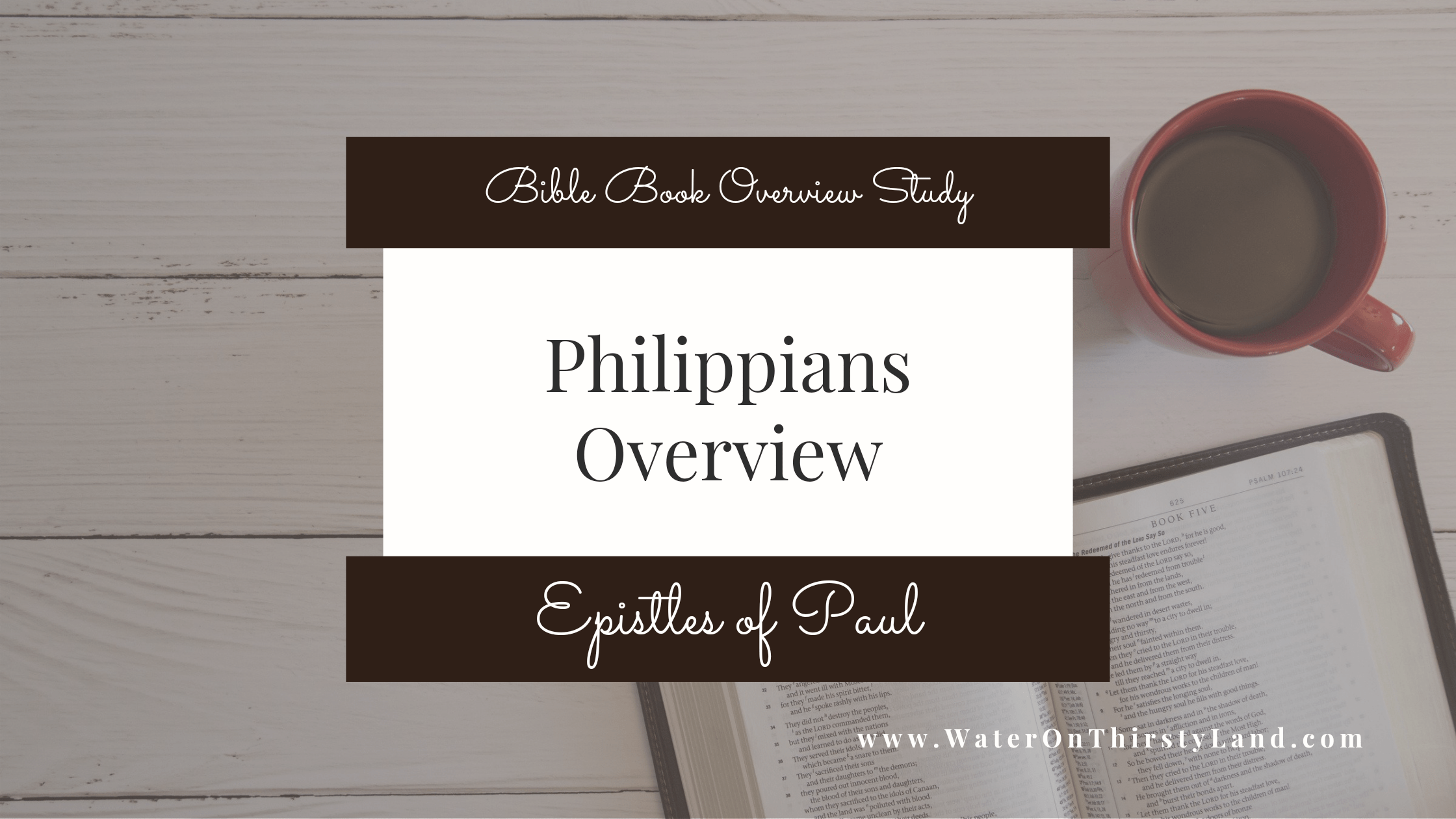 Philippians Overview
